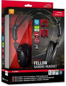 Headset SpeedLink Fellow Stereo Gaming (SL-8780-SBK)