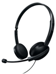 Headset Philips SHM3550/10 Preto