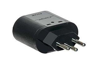 Protetor DPS iClamper Pocket 3P 10A Preto 10194