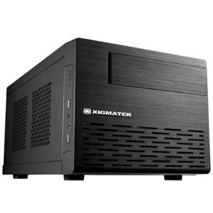 Gabinete Xigmatek Eris Black Mini-ITX Tower (EN6305)