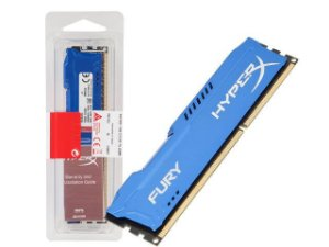 Kingston HyperX Fury Series 8GB DDR3 1600 (PC3 12800) Azul (HX316C10F/8)