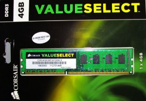 CORSAIR Value Select 4GB DDR3 1333 (CMV4GX3M1A1333C9)