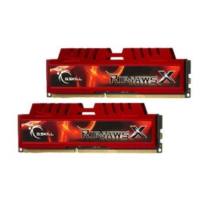 Memória G.SKILL Ripjaws X Series 8GB (2 x 4GB) DDR3 1333 (PC3 10666) (F3-10666CL9D-8GBXL)