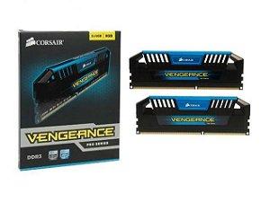 CORSAIR Vengeance Pro Azul 8GB (2 x 4GB) DDR3 1600 (PC3 12800) (CMY8GX3M2A1600C9B)