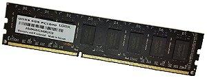 Memória Logic Black 4GB DDR3 1600Mhz (LGCM4GV1600B)