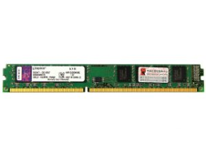 Memória Kingston 8GB DDR3 1333Mhz (1x8GB) PC10666 (KVR1333D3N9/8G)