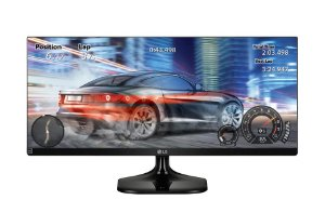 "Monitor LG LED Ultra Wide IPS LED Full HD 25"" Class 21:9 (25UM58-P)"