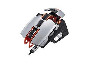 Mouse Cougar 700M Gamer 8200DPI Prata/Laranja