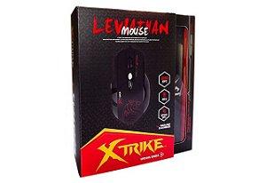 Mouse Gamer Xtrike Leviathan USB 800 a 3200DPI Laser (ELE-G1)