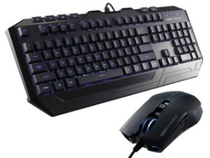 CM Storm Devastator - Kit Teclado e Mouse Blue LED Backlight Gaming (SGB-3010-KKMF1-BR)