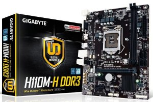 GIGABYTE GA-H110M-H LGA 1151 DDR3, Intel H110 Dual UEFI BIOS SATA 6Gb/s USB 3.0 Micro ATX