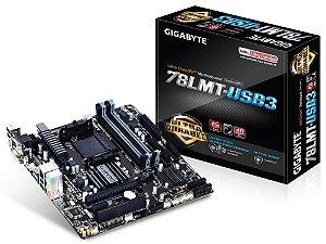 GIGABYTE GA-78LMT-USB3 AM3+ AMD 760G + SB710 HDMI USB 3.0 Micro ATX AMD (Rev. 6.0)