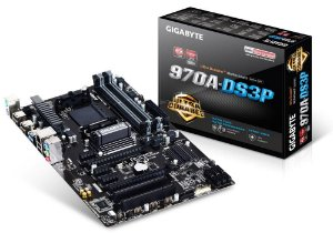 GIGABYTE GA-970A-DS3P AM3+ AMD 970 SATA 6Gb/s USB 3.0 ATX AMD (Rev. 2.0)