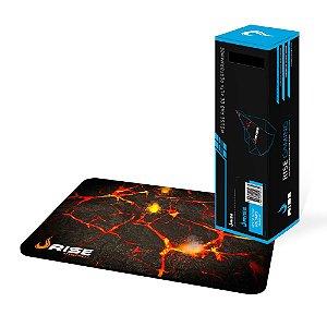 Mousepad Rise Gaming Volcano - Tamanho M - RG-MP-01-VO