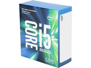 Intel Core i5-7600K Kaby Lake Quad-Core 3.8 GHz LGA 1151 91W (BX80677I57600K)