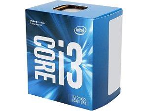 Intel Core i3-7100 Kaby Lake Dual-Core 3.9 GHz LGA 1151 51W Intel HD Graphics 630 (BX80677I37100)