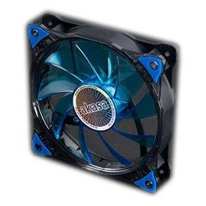 Fan Akasa Vegas 120MM 15 LEDs Azul (AK-FN091-BL)