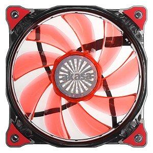 Fan Akasa Vegas 120MM 15 LEDs Vermelho (AK-FN091-RD)