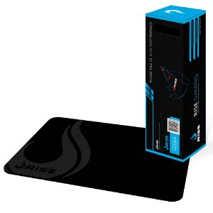 Mousepad Rise Gaming Full Black Grande Fibertek (RG-MP-02-FBK)