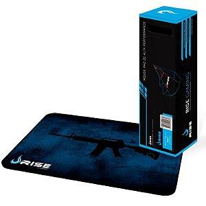 Mousepad Rise Gaming M4A1 Costurado Grande Fibertek (RG-MP-05-M4A)