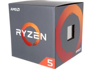 AMD RYZEN 5 1600 6-Core 3.2 GHz (3.6 GHz Turbo) Cache 16MB c/ Cooler Wraith Spire Socket AM4 65W (YD1600BBAEBOX)