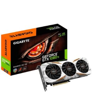 GIGABYTE GeForce GTX 1080 Ti DirectX 12 11GB 352-Bit GDDR5X PCI Express 3.0 x16 (GV-N108TGAMING OC-11GD)