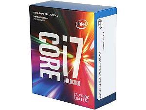 Intel Core i7-7700K Kaby Lake Quad-Core 4.2 GHz 8MB LGA 1151 91W  (BX80677I77700K)