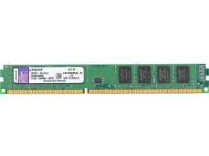 Memória Kingston 4GB DDR3 1333Mhz (1x4GB) PC10666 (KVR1333D3N9/4G)