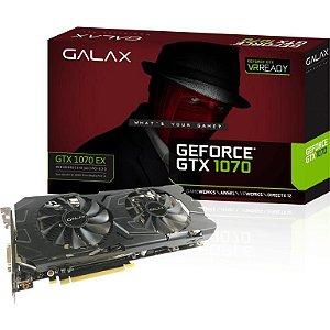 GALAX GeForce GTX 1070 8GB 256-Bit GDDR5 PCI Express 3.0 x16 DirectX 12 (70NSH6DHL4XE)