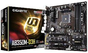 GIGABYTE GA-AB350M-D3H (rev. 1.0) AM4 AMD B350 SATA 6Gb/s USB 3.1HDMI Micro ATX AMD