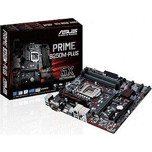 ASUS PRIME B250M-PLUS/BR LGA 1151 Intel B250 HDMI SATA 6Gb/s USB 3.0 Micro ATX