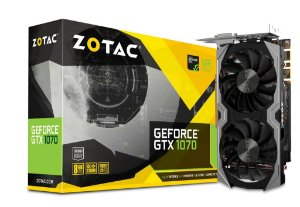 ZOTAC GeForce GTX 1070 8GB 256-Bit MINI-ITX GDDR5 PCI Express 3.0 x16 DirectX 12 (ZT-P10700G-10M)