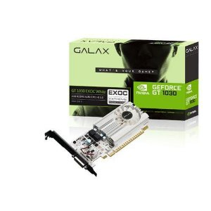 Galax GEFORCE GT 1030 2GB DDR5 64Bits EXOC White (30NPH4HVQ5EW)