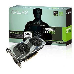 Galax GEFORCE GTX 1060 OC 6GB GDDR5 192Bits 8008MHZ DX12 (60NRH7DSL9OC)