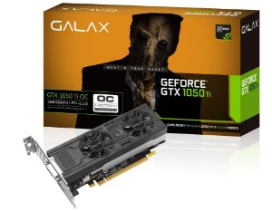 Galax GeForce GTX 1050 Ti OC 4GB 128-Bit GDDR5 PCI Express 3.0 (50IQH8DSP2MN)