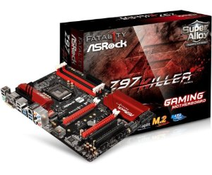 ASRock Gaming Fatal1ty Z97 Killer LGA 1150 Intel Z97 HDMI SATA 6Gb/s USB 3.0 ATX