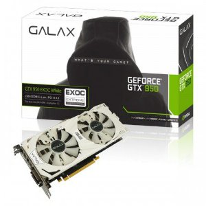 Galax GEFORCE GTX 950 EX OC 2GB DDR5 128Bits 6730MHZ DX12 (95NPH8DVE8EW)