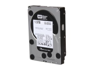 "Western Digital Black 1.5TB 7200 RPM 64MB Cache SATA 6.0Gb/s 3.5"" (WD1502FAEX) (RECERTIFICADO)"