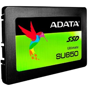 "ADATA Ultimate SU650 2.5"" 120GB SATA III 3D NAND Internal Solid State Drive (SSD) (ASU650SS-120GT-R)"