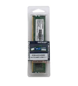 Memória Patriot Signature Line 4GB (1 x 4GB) 288-Pin DDR4 2400Mhz (PC4 19200) (PSD44G240082)