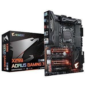 Gigabyte X299 AORUS GAMING 3 LED RGB FUSION LGA 2066 ATX DDR4 USB 3.1