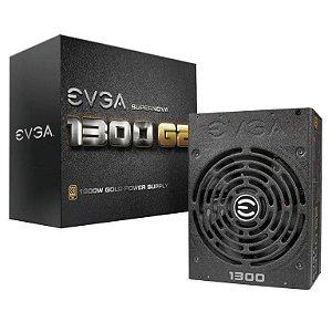Fonte EVGA 1300W 80 Plus Gold Modular PFC Ativo SuperNova (120-G2-1300-XR)
