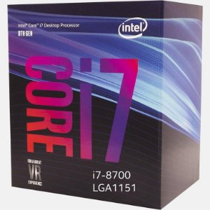 Intel Core i7-8700 Coffee Lake Six-Core 3.2 GHz 12MB LGA 1151 65W Intel UHD Graphics 630 (BX80684I78700)