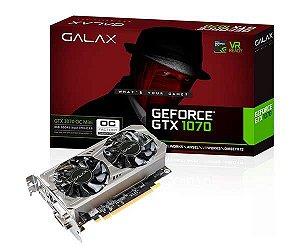 Galax GeForce GTX 1070 OC 8GB 256-Bit MINI-ITX GDDR5 PCI Express 3.0 x16 DirectX 12 (70NSH6DVO5MN)