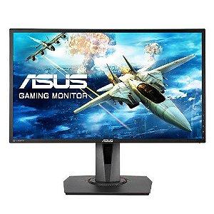 "Monitor Gamer ASUS 24"" Full HD, 1ms, 144Hz, DisplayWidget, GamePlus, Trace Free, Free-Sync (MG248QR)"