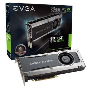 EVGA GeForce GTX 1070 Ti GAMING  8GB GDDR5 (08G-P4-5670-KR)