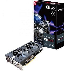Sapphire Radeon NITRO+ RX 580 4GB GDDR5 256-Bits / HDMI / DVI-D / Dual DP w/ Backplate (11265-07-20G)