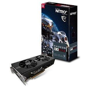 Sapphire Radeon NITRO+ RX 570 4GB GDDR5 256-Bits / HDMI / DVI-D / Dual DP w/ Backplate (11266-14-20G)