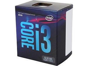 Intel Core i3-8100 Coffee Lake Quad-Core 3.6 GHz LGA 1151 (300 Series) 65W Intel UHD Graphics 630 (BX80684I38100)