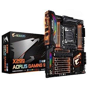 GIGABYTE AORUS X299 AORUS Gaming 9 LGA 2066 Intel X299 SATA 6Gb/s USB 3.1 ATX Intel